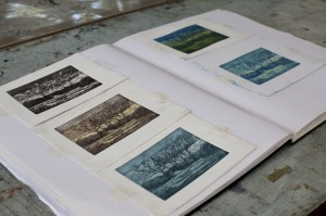 2. variations on an exploratory etching